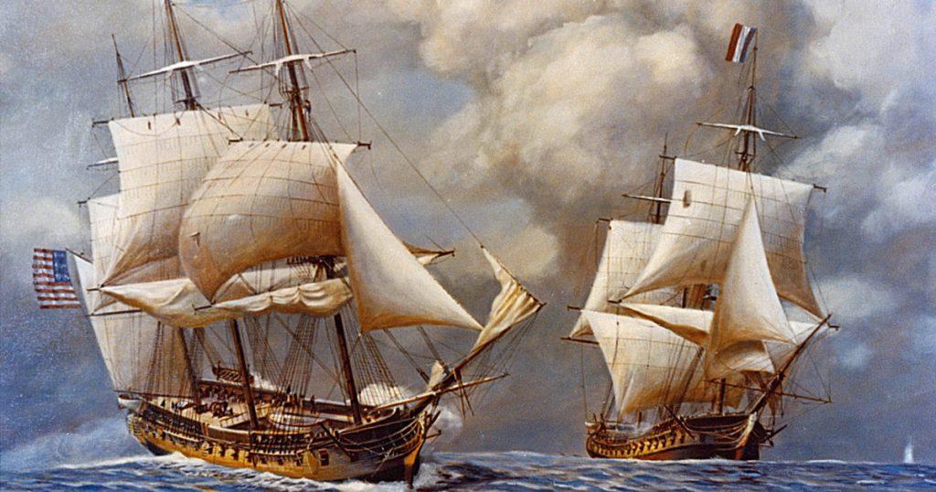 USS Constellation v L'Insurgente
