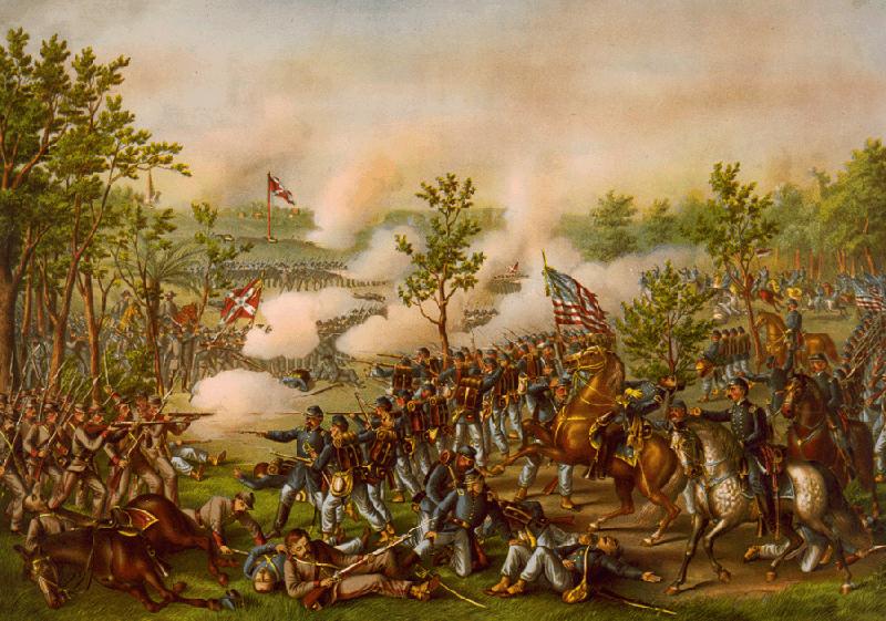 Battle of Atlanta, Painting