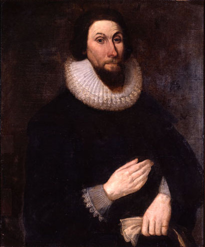 Portrait of John Winthrop.