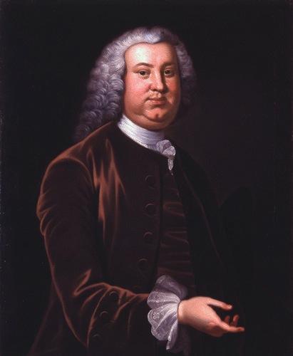 Portrait of Peyton Randolph.