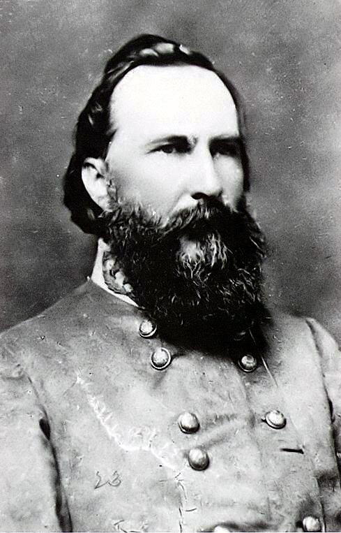 Portrait of James Longstreet.