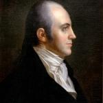 Portrait of Aaron Burr.
