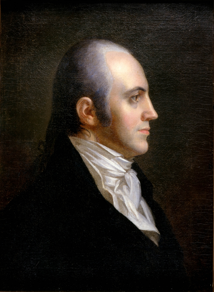 Portrait of Aaron Burr.