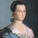 Portrait of Abigail Adams.