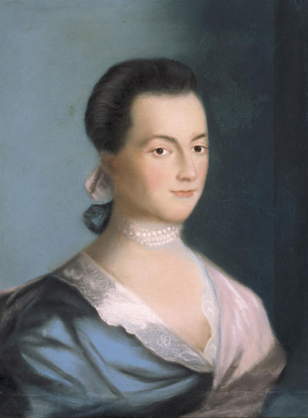 Portrait of Abigail Adams.