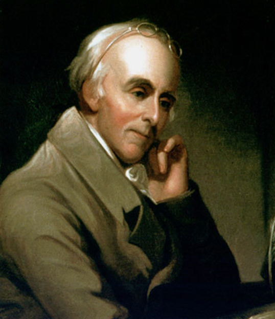 Portrait of Benjamin Rush.