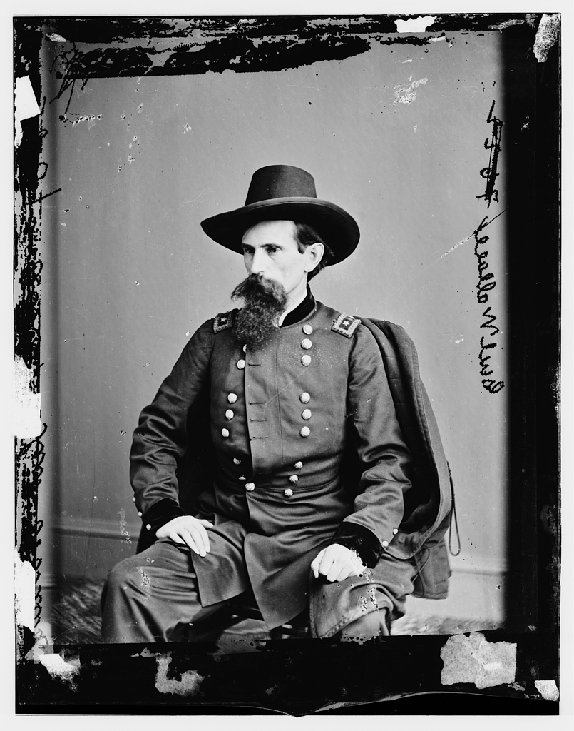 Portrait of Lew Wallace.