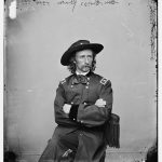 Black and white photograph of George A. Custer.