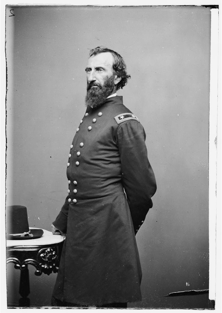 Black and white photograph of John A. McClernand.