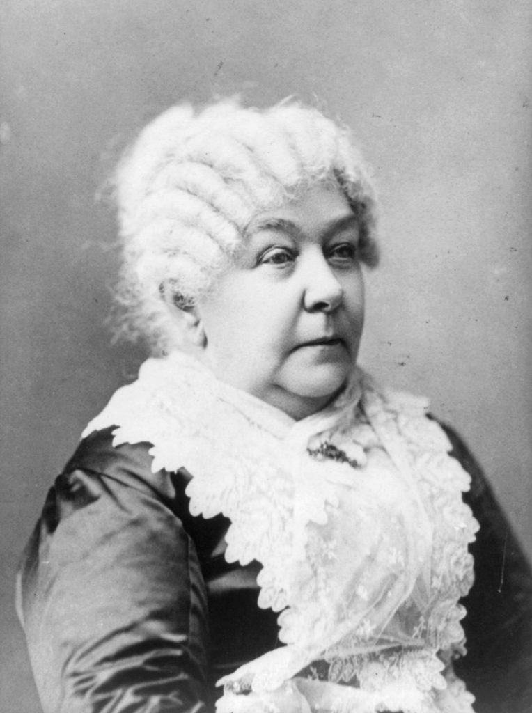 Elizabeth Cady Stanton, Portrait