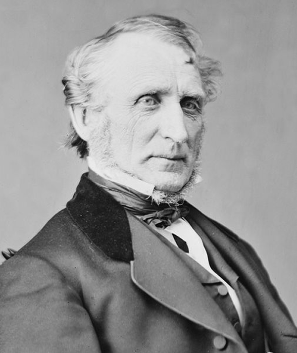 Portrait of Ohio Congressman John A. Bingham