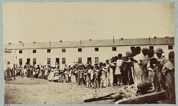 Picture of residents of Freedman's Village