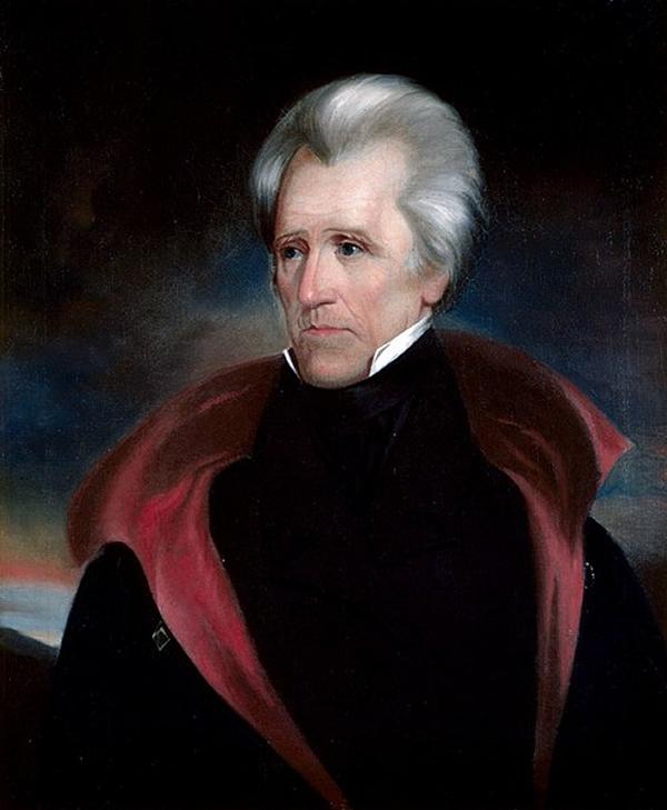 Andrew Jackson portrait