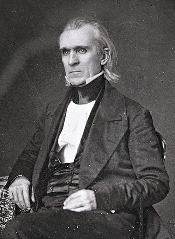 James K. Polk portrait