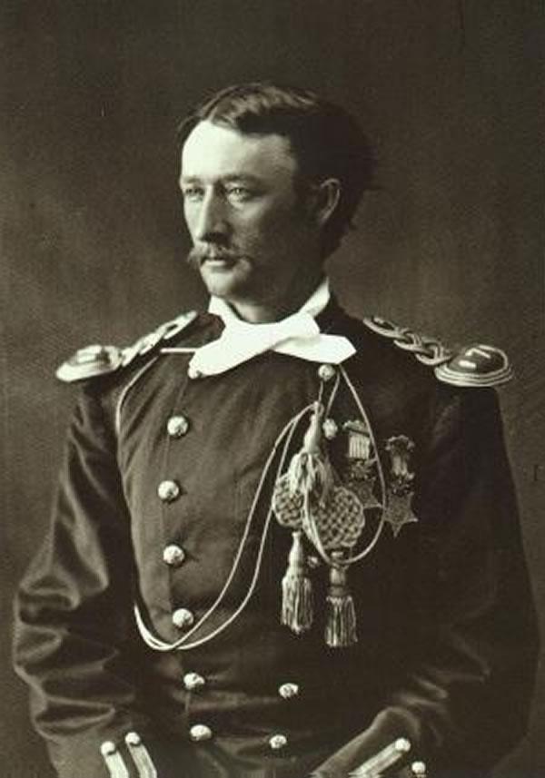 Portrait of Thomas Custer