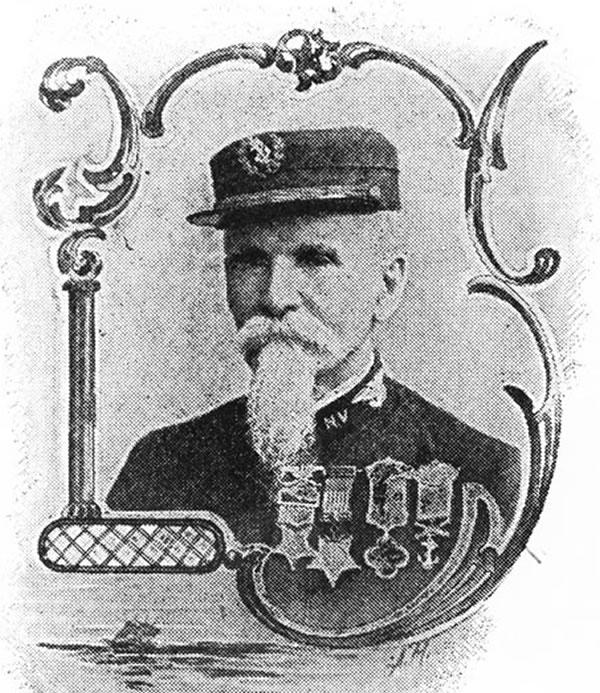 Portrait of John F. Mackie