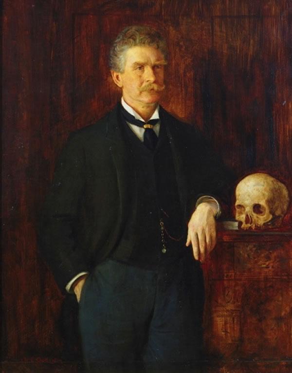 Portrait of Ambrose Bierce