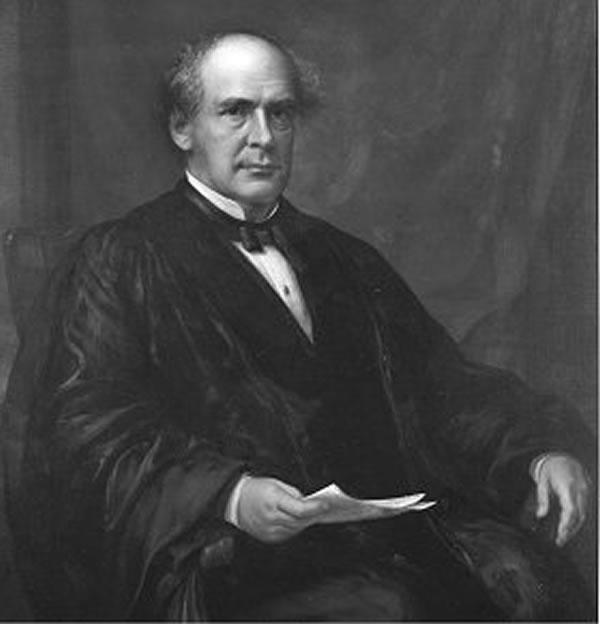 Portrait of Salmon P. Chase