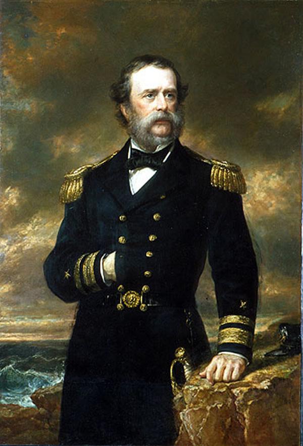 Portrait of Samuel F. DuPont