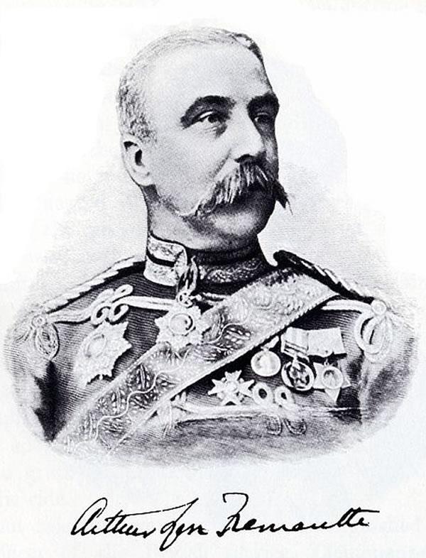 Portrait of Arthur Fremantle