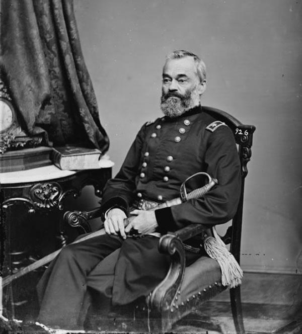 Portrait of Samuel Heintzelman