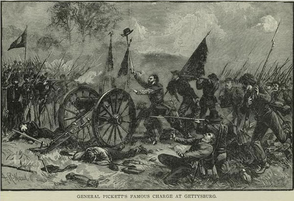 Painting of Pickett's Charge