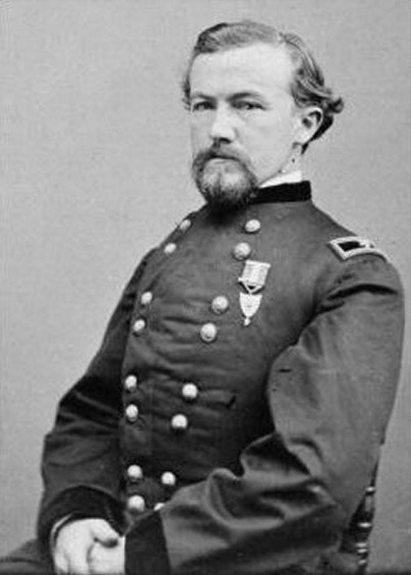 Portrait of Charles Ewing
