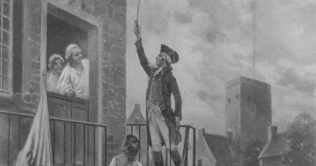 Ethan Allen at Fort Ticonderoga