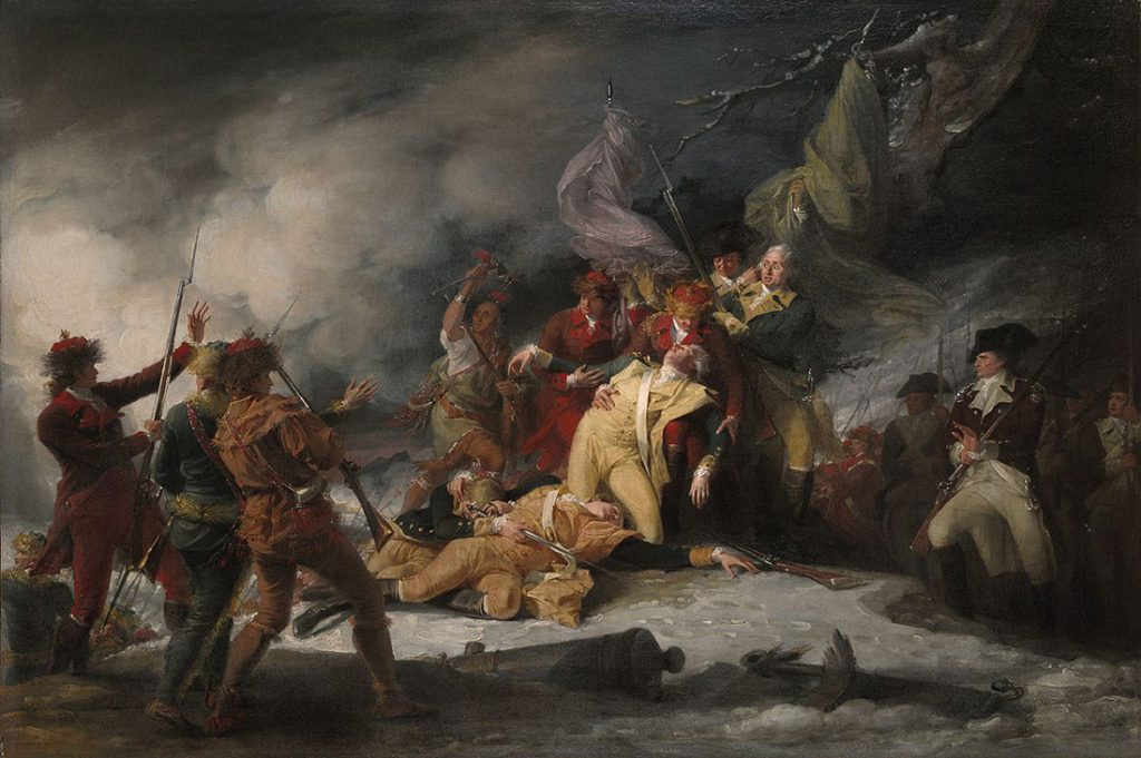 Death of Richard Montgomery by John Trumbull