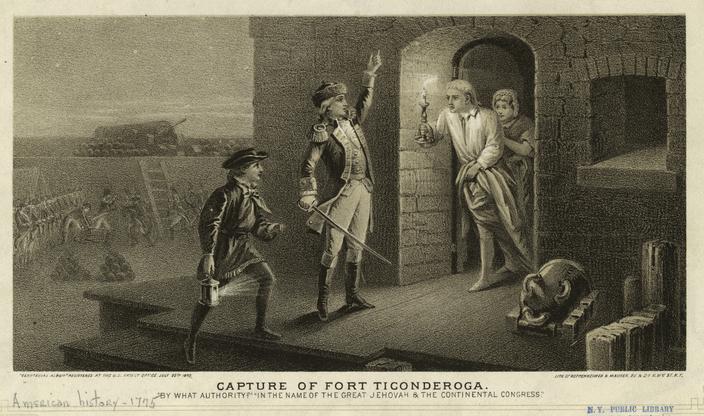 Ethan Allen Capture of Fort Ticonderoga