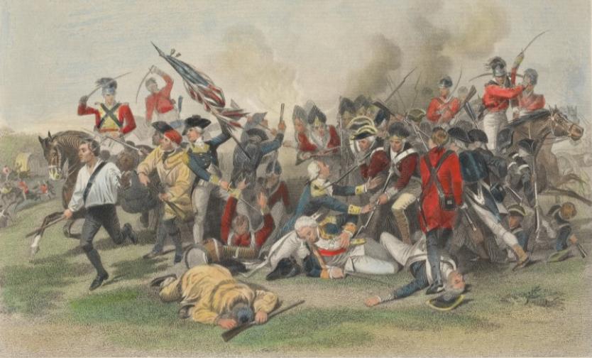 Johann de Kalb, Death at Camden