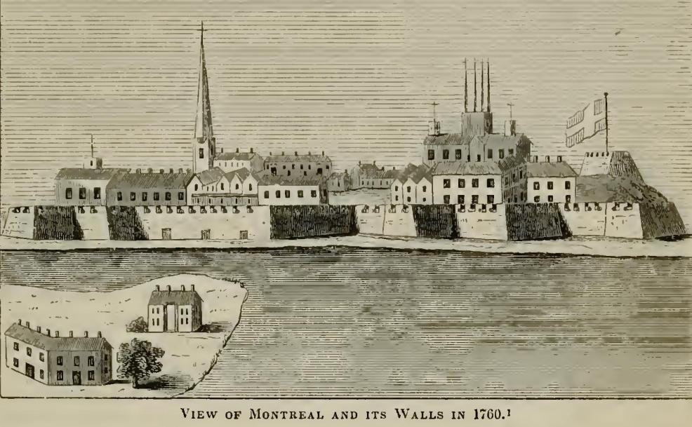 Montreal and its Walls 1760