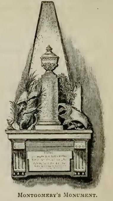 Richard Montgomery Monument, Illustration