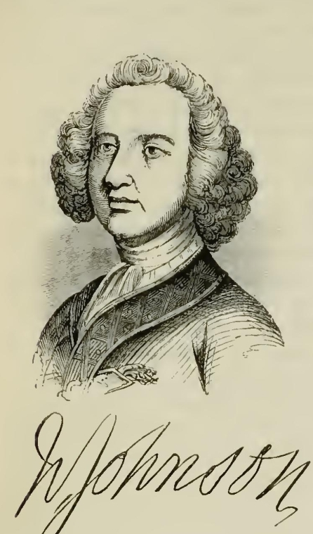 Sir William Johnson, Illustration