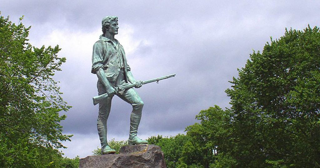 Lexington Minuteman Statue